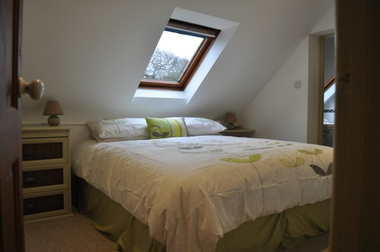 Smallicombe Farm:                   The Hayloft Luxury Bedroom