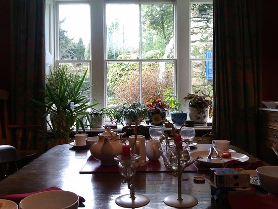 Cascades House and Gardens:                   Breakfast Room