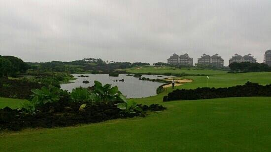 Mission Hills Resort Haikou:                   Blackstone golf course