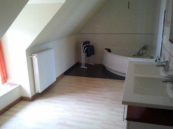 Hotel du Cap:                   salle de bains