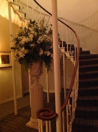Highfield Park:                   beautiful staircase - main house