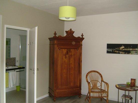 Sourcieux-les-Mines, Francia: La Falconnière - La chambre Anis