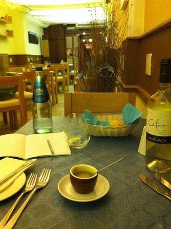 The Kitchen:                   caffè???? no zuppa!!!
