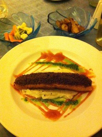 The Kitchen:                   salmon