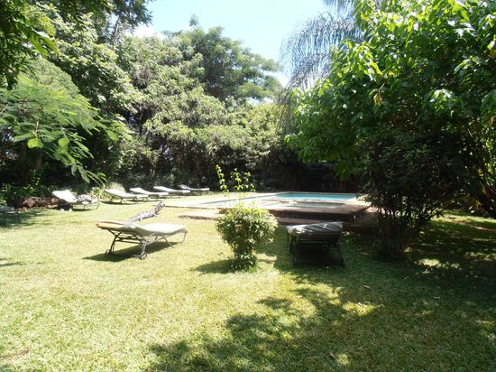 Zigzag B&B:                                     pool area