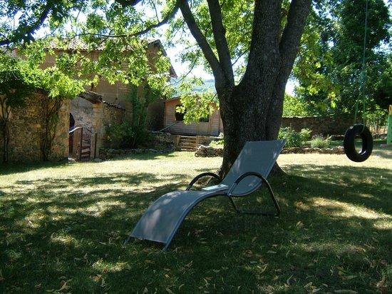 Sourcieux-les-Mines, Francia: Chambre d'hôtes La Falconnière - Le jardin