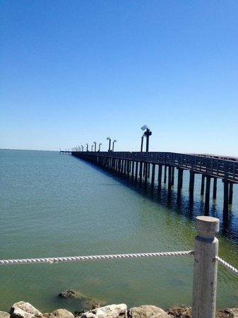 La Quinta Inn Houston La Porte:                                     Our pic of pier