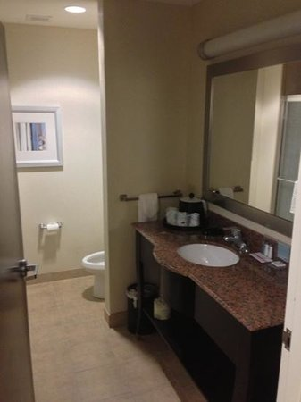 Hampton Inn & Suites New Iberia: bathroom (234)