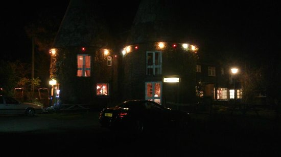 Playden Oasts Inn:                                     Winters Evening at Playden Oast
