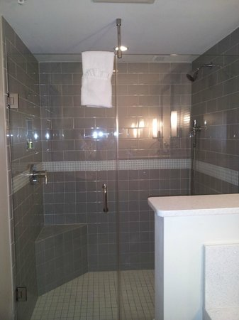 Orchid Key Inn:                                     Large walk inn shower
