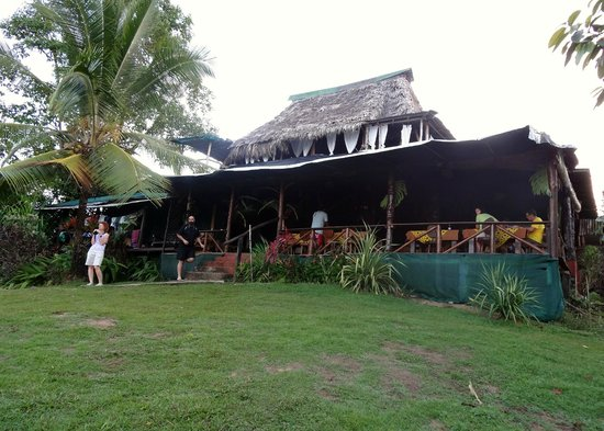 Punta Marenco Lodge:                                     main lodge for dining