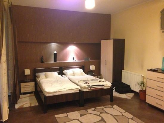 Apart-Lux:                   Een heerlijk bed
