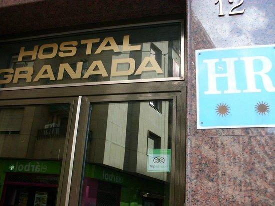 Hostal Granada: Extérieur de l'hotel