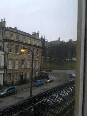 Cairn Hotel Edinburgh:                   view from room