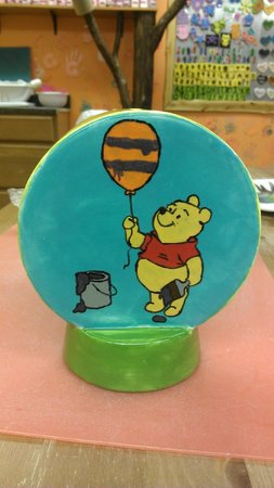 Brush On In: Jill's Pooh Bear