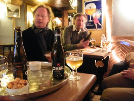 Groovy Brussels:                                     Our two Guides