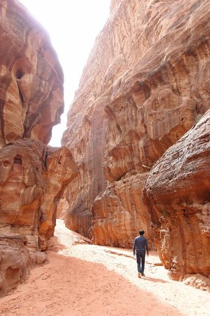 Bedouin Traditions Camp:                                     canyon walk