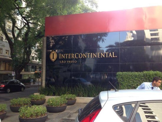 InterContinental Sao Paulo: Entrance