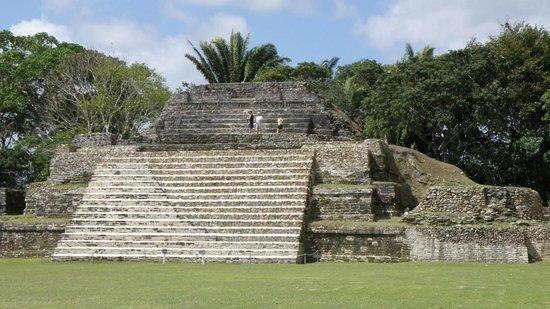 Jaguar Adventures Tours & Travel:                                     Altun Ha Mayan Ruins - Belize