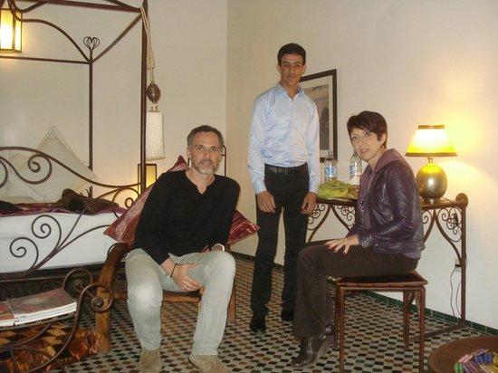 Riad Laaroussa Hotel and Spa:                   Chambre avec Mezzanine