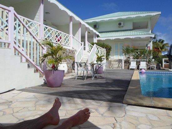 Sol Hotel:                   l'hotel au bord de la piscine