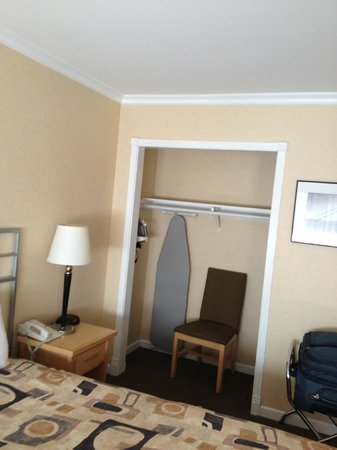 Inn on Broadway:                                     Closet