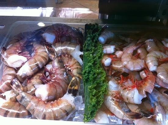 Ocean Harvest Market & Grill :                                     fresh to prepare at home!