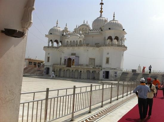 Punjab, India:                                     gurdwara sahib at anandpur