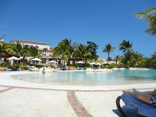 Sanctuary Cap Cana by AlSol:                   Saltwater Pool