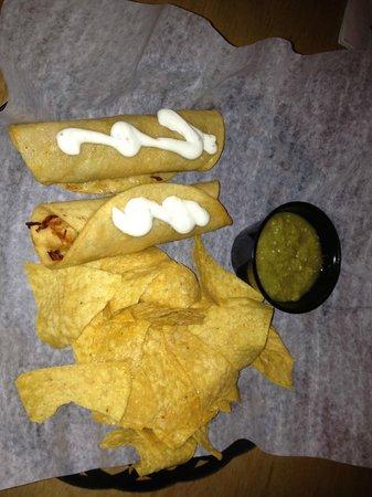 Rick's Cantina: chicken taquitos $7
