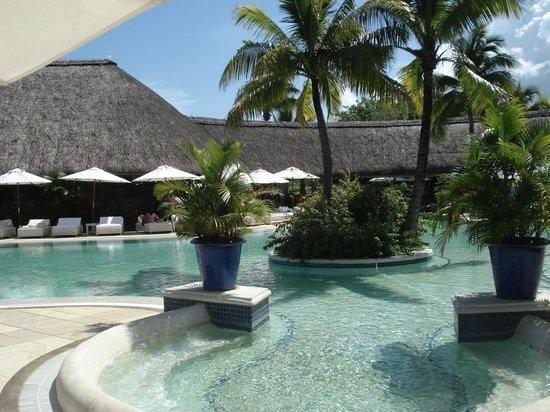 Maritim Resort & Spa Mauritius:                   Vue de la piscine