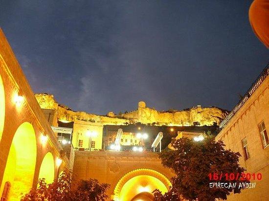 Mardin Province, Tyrkia:                                                       Mardin Gece