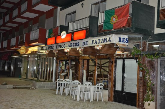 Hotel Avenida de Fatima: Restaurant around the Corner