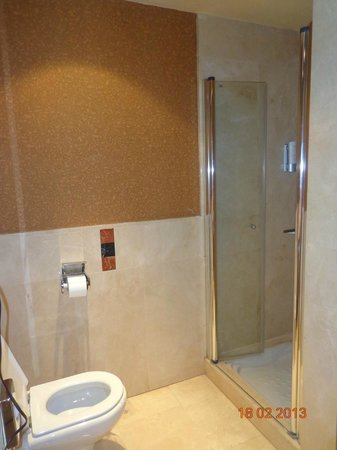 Lopesan Costa Meloneras Resort, Spa & Casino: shower cubicle