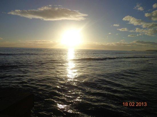 Lopesan Costa Meloneras Resort, Spa & Casino: sunset