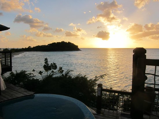 ReefView Apartments:                   Sunset at Sheer's Restaurant