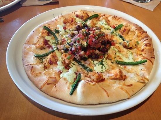 California Pizza Kitchen:                   Spicy Chipolte Chicken Pizza