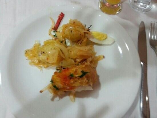 Restaurante Bacalhau do Porto:                                     bacalhau alagareiro