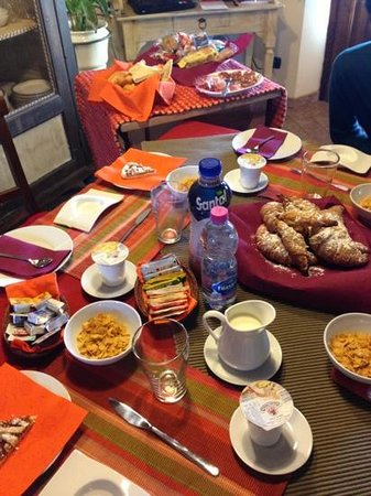 B&B Montebuono:                   breakfast