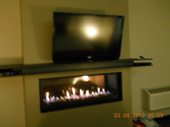 Belamere Suites:                   Flat Screen TV and Gas Fireplace