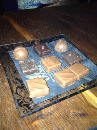 Ayza Wine & Chocolate Bar :                   Chocolates by Jacques Torres