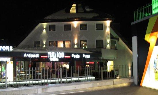 Sporthotel Silvretta:                   budynek z apartamentami