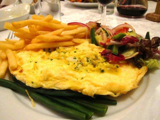 Bon Appetite: smoked fish omlette