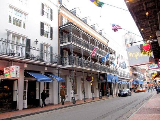 Hotel Exterior Bourbon St Entrance Picture Of Royal Sonesta New
