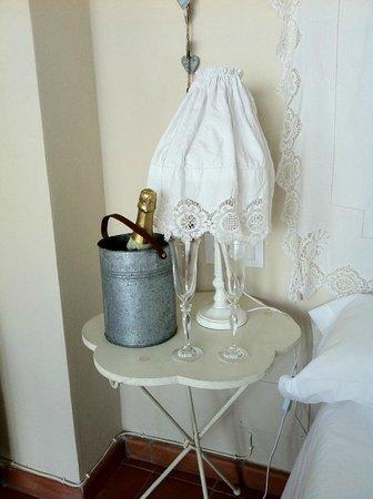 Hotel Albranca:                   Detalle por nuestra luna de miel