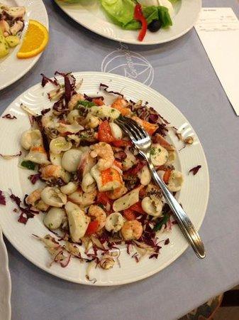 Time Out 2:                   insalata di mare