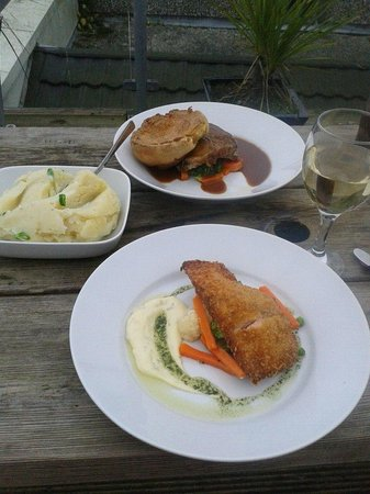 The Groomsport Inn: and for mains... got these today. yummylicious