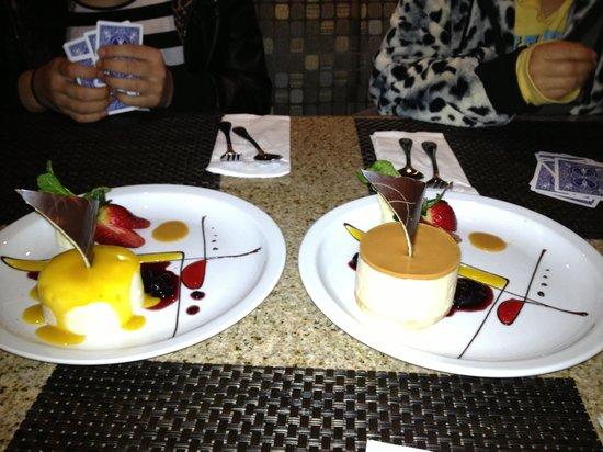 Hotel Ticuan:                   Dessert!!