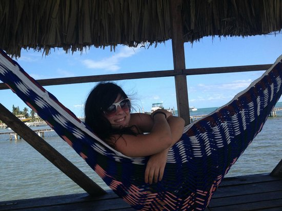 Colinda Cabanas:                   hammock on the dock