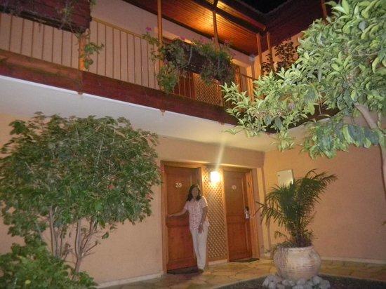 Hagoshrim Hotel & Nature: En la puerta de la habitacion